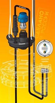 Оголовок для скважины Джилекс из пластика с базовой частью ОСПБ 90-110/25 - фото 29656
