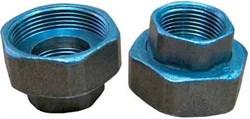 Резьбовое трубное соединение G 2 x Rp 1 1/4 (компл. 2 шт.) для UP/UPS/UPE/ALPHA 32 - фото 30439