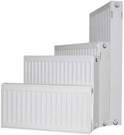 Радиатор Jugoterm Axis, боковое подключение, тип 22, h 300 мм, L 1000 мм - фото 39372