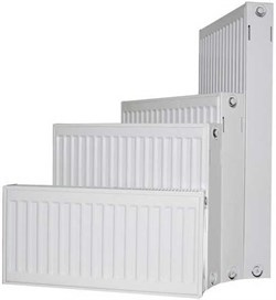Радиатор Jugoterm Axis, боковое подключение, тип 22, h 300 мм, L 1100 мм - фото 39376