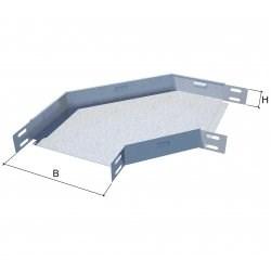 Горизонтальный угол 90° для перферированого листового лотка KM-Profil, GL90x50x50 - фото 57053