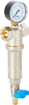 """Фильтр для воды RBM универсальный 1"""" с манометром - фото 58062"""