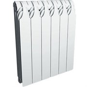 Биметаллический секционный радиатор Sira GlaDiator 350, 8 секций