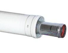 Baxi Удлинение коаксиальное ф 60/100 мм, L=1 м, KHG 714101710