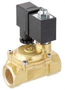 Клапан электромагнитный Emmeti 230В для воды нормально закрытый (открытие по сигналу) 1/2