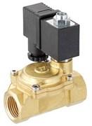 Клапан электромагнитный Emmeti 230В для воды нормально открытый (закрытие по сигналу) 1/2