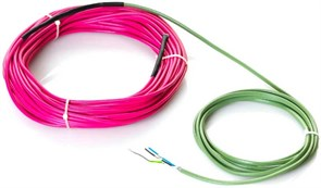 Греющий 2-х жильный кабель Rehau SOLELEC 1555/1700 W (220/230 V) 17 W/m, S 10-14 м2, 100м