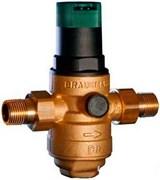 """Редуктор давления воды Honeywell 1"""", с фильтром для горячей воды, под аксиальный манометр"""