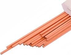 Твердый припой Felder Cu-Rophos 94, размер 3 мм х 500 мм (для труб более 28х1.5)