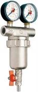 Фильтр промывной Itap 3/4 с 2мя манометрами