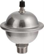 Гаситель гидроударов Valtec 1/2 Нр, 0.169 л, мембранный, из нерж стали