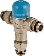 Смеситель термостатический Valtec 1/2 Нр трехходовой, тип NR (50 град.)
