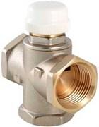 Смеситель термостатический Valtec 1 Вр трехходовой, тип VT.MR03, Kvs 2.7, смешение боковое с регулир байпасом
