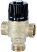 Клапан термостатический трехходовой Uni-Fitt 3/4 Вр, Kvs 1.8, смешение центральное