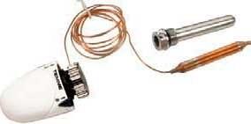 Термоголовка Tiemme для радиатора отопления/ теплого пола