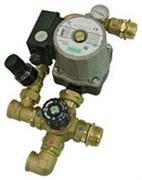 Комплект для насосной группы Barberi с термостатическим клапаном и байпасом, с насосом UPSO 25-65 130 мм (18B040000)