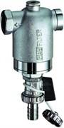 """Фильтр для воды FAR хромированный 300мкм с манометром 1/2"""" ВР-ВР (FA 3948 12)"""