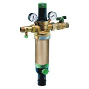 """Фильтр для воды Honeywell промывной (горячая вода) с регулятором давления и манометрами HS10S-1""""AAM"""