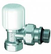 """Вентиль для радиатора ручной угловой FAR c уплотнением EPDM 1/2"""" (FV 1155 12)"""