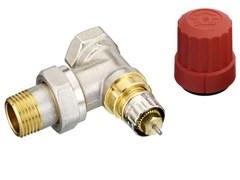 Клапан термостатический Danfoss RA-N угловой для двухтрубной системы 1/2