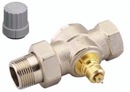 Клапан термостатический Danfoss RA-G прямой для однотрубной системы 1/2