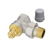 Клапан термостатический Danfoss RA-G угловой для однотрубной системы 3/4