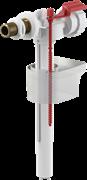 Заливной клапан для бачка унитаза Alcaplast, боковое подключение, латунный штуцер 3/8 (A16/1)