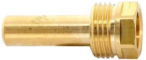 Гильза для биметаллических термометров погружная Watts 75 мм х 1/2