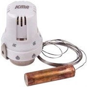 Термоголовка Icma для теплого пола, 20-50 град., M28х1.5