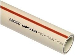 Труба полипропиленовая WAVIN EKOPLASTIK Fiber Basalt Plus S (базальтовое волокно) 32x4.4