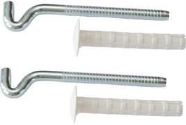 Кронштейн для водонагревателя (2 шт), 9 х 130 мм, с дюбелями