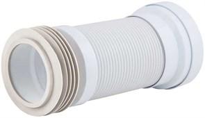 Гофра для унитаза армированная Орио Ф110, длина 270-550мм (арт.С-996)