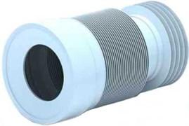 Гофра для унитаза Ани Пласт Ф110, длина 231-500мм (арт.K828)