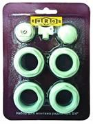 Монтажный комплект для радиатора отопления Euros 1/2, без кронштейнов