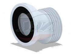 Эксцентрик для унитаза пластиковый, смещение 20мм, Ани Пласт ф110 (W0220)