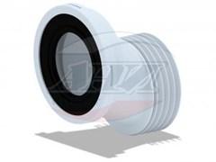 Эксцентрик для унитаза пластиковый, смещение 40мм, Ани Пласт ф110 (W0420)