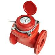 Счётчик г/в и х/в турбинный фланцевый импульсный ПК Прибор СТВУ Ду 80 Ру16 120°С L=225мм