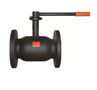Кран шаровой стальной фланцевый термостойкая эмаль ADL Бивал CM02A226803 Ду 15 Ру25