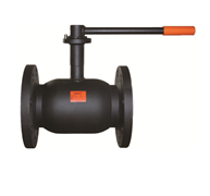 Кран шаровой стальной фланцевый термостойкая эмаль ADL Бивал CM02A226816 Ду 125 Ру16
