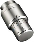 Термоголовка Oventrop, жидкостный датчик, цвет матовая сталь