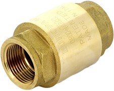 """Клапан обратный пружинный Uni-Fitt EUROPA (металлический затвор) 3/4"""""""