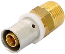 """Муфта НР пресс для мeталлопластиковых труб Uni-Fitt 16 x 3/4"""""""