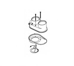 Protherm Разделительный элемент ф 60/100 2 х 80 мм - фото 21625