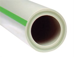 Труба полипропиленовая FV Plast Faser (стекловолокно) 32x5.4 - фото 22424