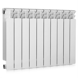 Радиатор биметаллический RIFAR Base 350, 10 секций - фото 23005