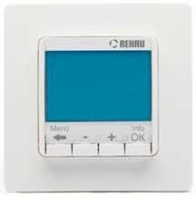 Терморегулятор Rehau SOLELEC Optima 10 A многофункциональный, программируемый - фото 28872