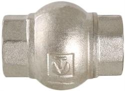 """Клапан обратный Valtec 1/2"""" Вр, с латунным золотником, пружинный - фото 71944"""