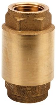 """Клапан обратный пружинный Remer (металлический затвор) 1/2"""" - фото 72001"""