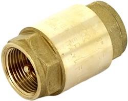 """Клапан обратный пружинный Uni-Fitt EUROPA (металлический затвор) 1"""" - фото 72188"""