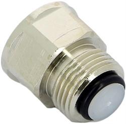 """Клапан для монтажа/ демонтажа воздухоотводчика Itap 365 3/8"""" х 3/8"""" - фото 72843"""